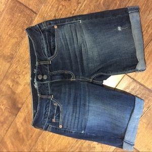 AE jean shorts